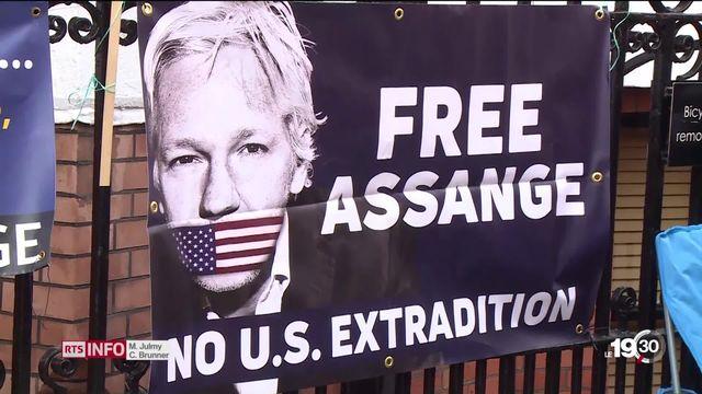 Retour sur le parcours de Julian Assange et les révélations de WikiLeaks. [RTS]