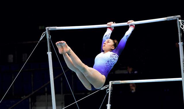 Ilaria Käslin disputera deux finales dimanche en Pologne. [Marcin Bielecki - Keystone]
