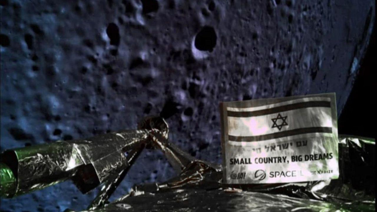 La première sonde israélienne à destination de la Lune s'est écrasée. [AFP]