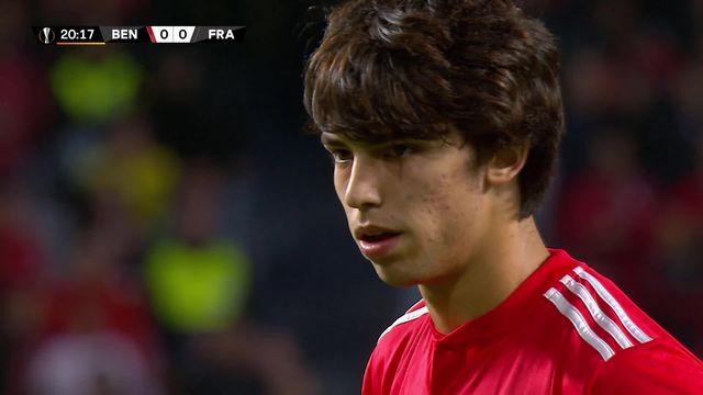 1-4 aller, Benfica – Francfort (4-1): Benfica et Seferovic prennent une option avant le retour [RTS]