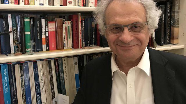 L'écrivain Amin Maalouf. [Guillaume Henchoz - RTS]