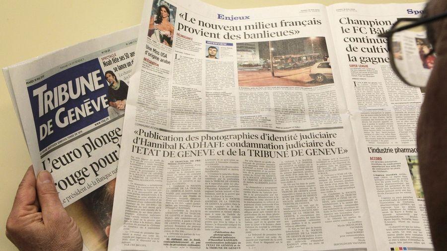 Trois journaux dont la Tribune de Genève vont bénéficier de cette numérisation.