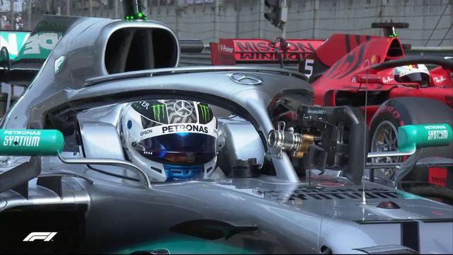 F1 - GP de Chine: Bottas devant Hamilton et Vettel [RTS]