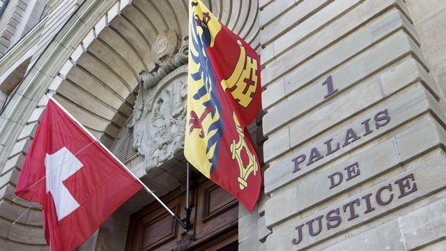 Le Palais de justice à Genève. [Salvatore Di Nolfi - Keystone]