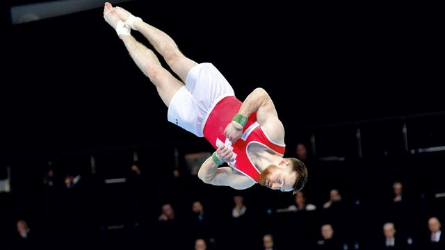 Benjamin Gischard a réalisé sa meilleure prestation en carrière dans une finale internationale. [Keystone]