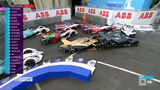 Formule E: 7e manche du championnat du monde à Rome [RTS]