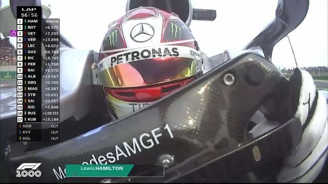 F1 - GP de Chine: Hamilton s'impose et prend la tête du classement des pilotes [RTS]