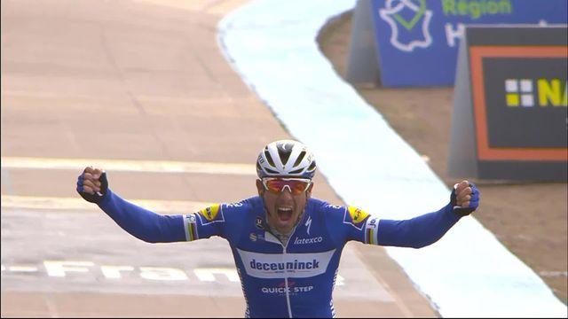 Paris-Roubaix: victoire de Philippe Gilbert (BEL) [RTS]
