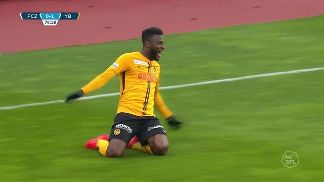 29e journée, Zurich - YB 0-1: victoire des Bernois au Letzigrund [RTS]
