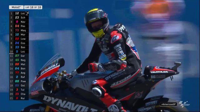 GP des Etats-Unis (#3), Moto 2: première victoire de la saison pour Luthi (SUI) [RTS]