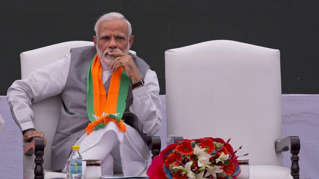 Le Premier ministre indien Narendra Modi. [Manish Swarup - AP/Keystone]