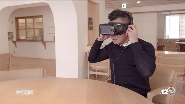 Japon: campagne de prise de conscience sur l'Alzheimer grâce à la réalité virtuelle. [RTS]