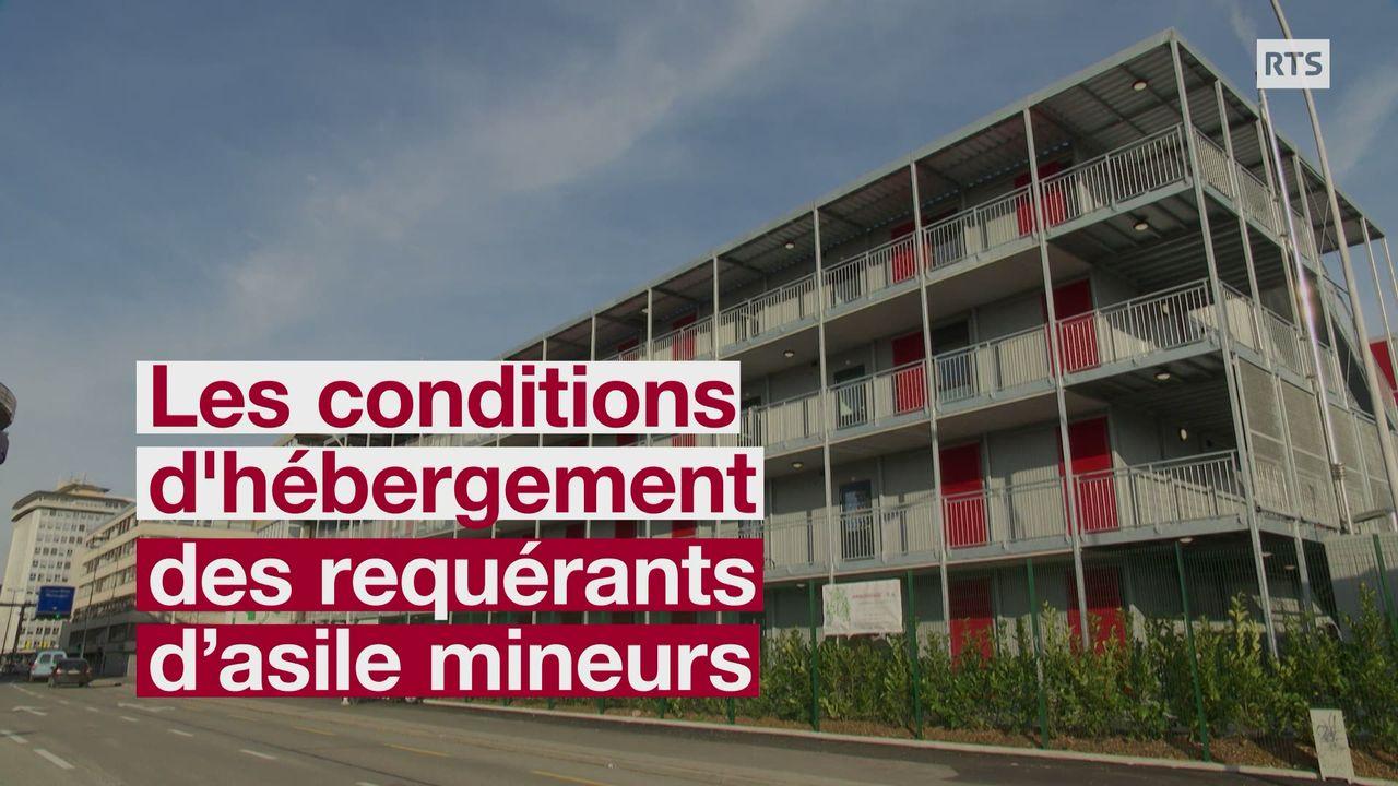 Un centre d'hébergement pour requérants fait polémique à Genève [RTS]