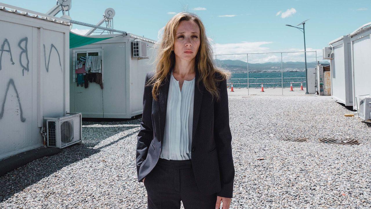 """Sylvie Testud dans la série """"Eden"""". [RTS / Pimarsaut]"""