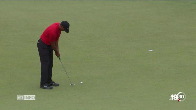 Tiger Woods, le come back au plus haut niveau [RTS]