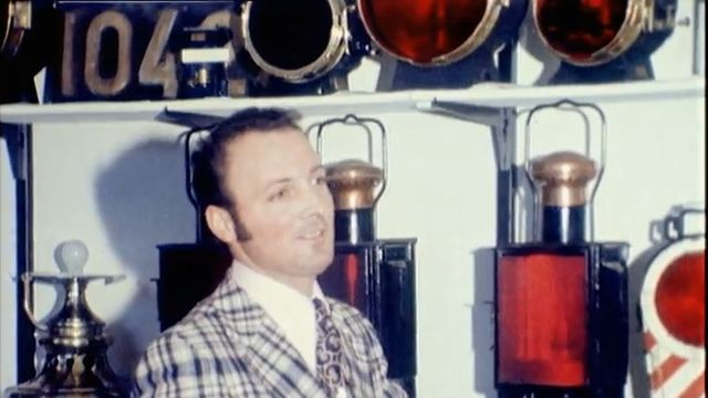Lanternes CFF en 1974. [RTS]