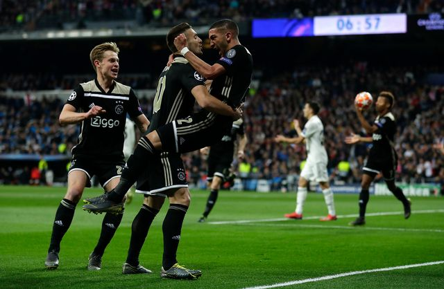 L'Ajax Amsterdam avait éliminé le Real le 5 mars dernier. [Manu Fernandez - AP/Keystone]