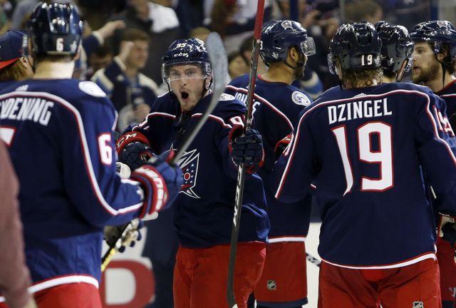 NHL: Columbus et Kukan se paient Tampa Bay