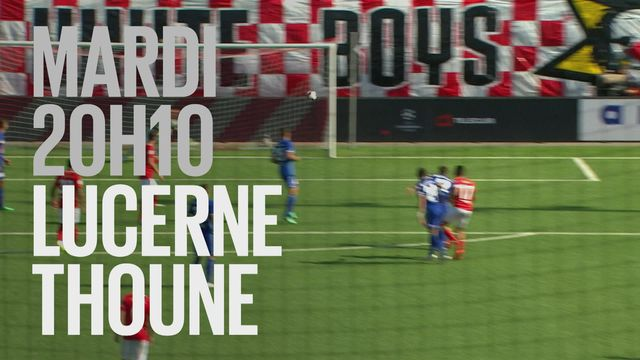 Bande-annonce: Football Coupe Suisse Lucerne - Thoune du 23.04.2019 [RTS]