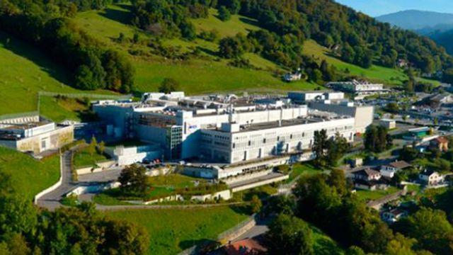 Le site de Corsier-sur-Vevey du géant Merck. [DR - RTS]
