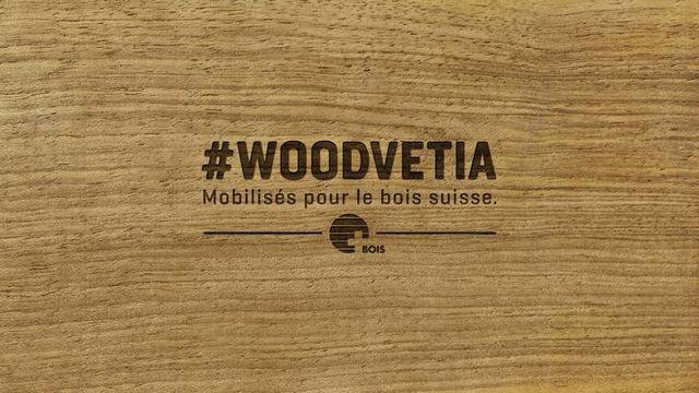 #Woodvetia, une initiative pour promouvoir le bois suisse [#Woodvetia]