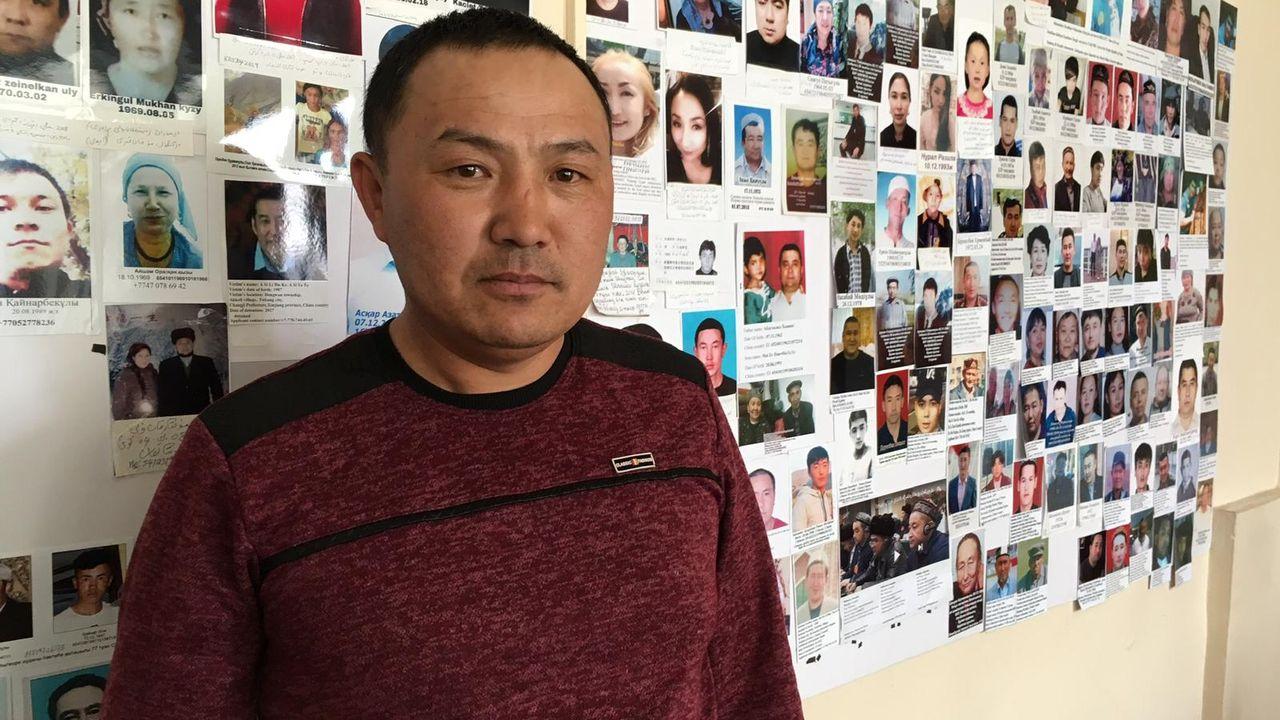 Orinbek Koksebek, un Chinois de l'ethnie kazakh, a été détenu au Xinjiang pendant 125 jours. [Michael Peuker - RTS]