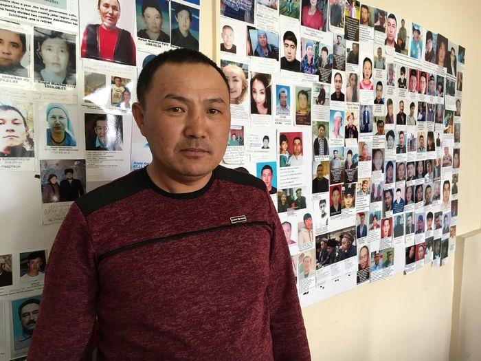 Orinbek Koksebek, Kazakh originaire de Chine, a été détenu au Xinjiang pendant 125 jours.