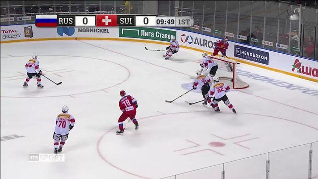 Match de préparation, Russie – Suisse (5-2): défaite pour l'équipe de Suisse [RTS]