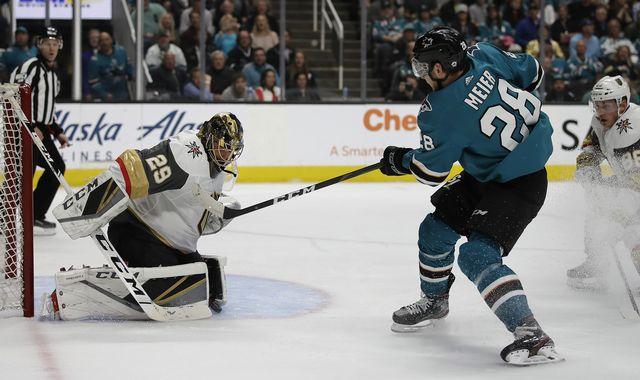 NHL: un sursis pour San Jose et Timo Meier