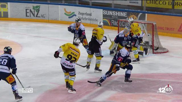 En hockey, Berne se rapproche du sacre national [RTS]