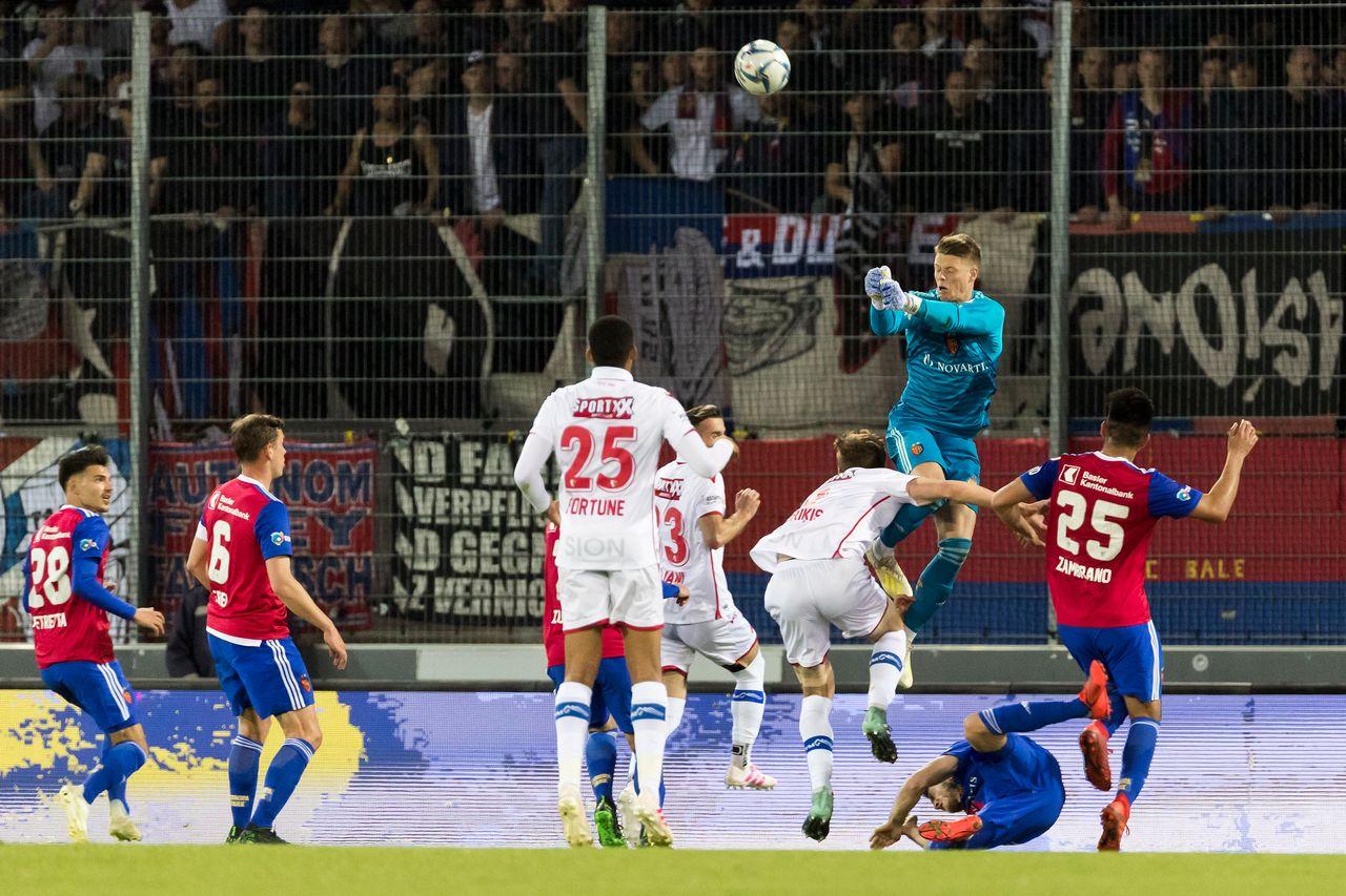 Omlin a fait le désespoir du FC Sion en 2e mi-temps. [Freshfocus]