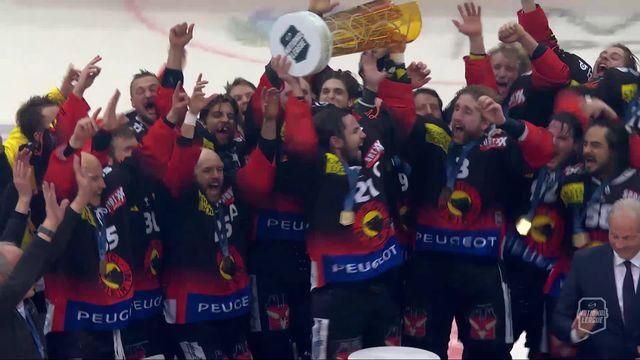Finale, Acte V, Berne - Zoug (2-1): les Bernois soulèvent la coupe [RTS]