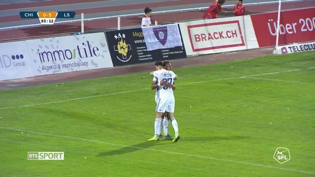 Challenge League, 30e journée: Chiasso - Lausanne-Sport (0-5): le résumé du match [RTS]