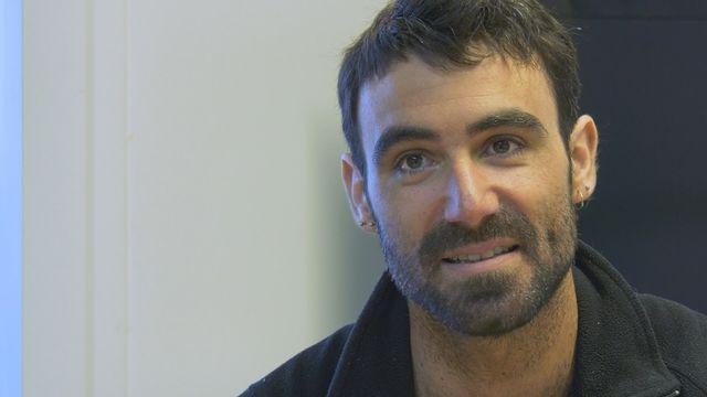 Alan Roura, plus jeune skipper à avoir terminé un Vendée Globe. [Cecilia Mendoza - RTS]