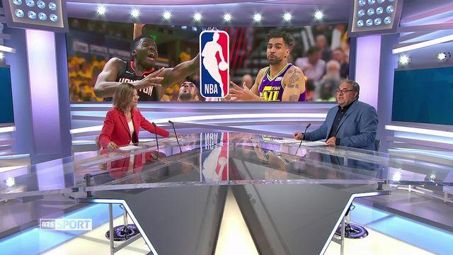 Basketball, NBA: Clint Capella et Thabo Sefolosha s'affrontent en Playoffs [RTS]