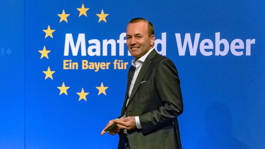 L'eurodéputé conservateur allemand Manfred Weber.
