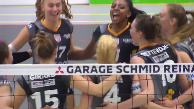 Finale dames, match 3: Aesch – NUC (24-26, 24-26, 21-25) [RTS]