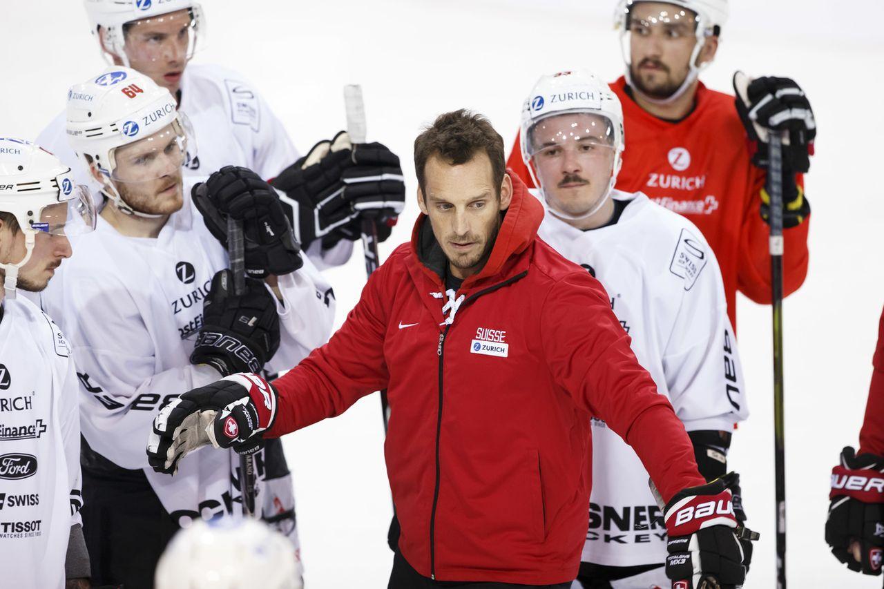 L'équipe de Suisse est en camp depuis mardi à Genève. [Salvatore Di Nolfi - Keystone]