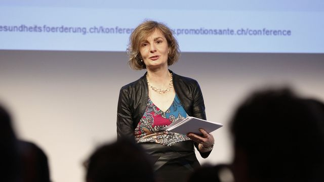 Catherine Favre Kruit, membre de la direction de santésuisse. [Promotion Santé Suisse]