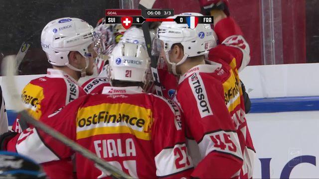 Suisse - France (6-0): victoire facile pour les Helvètes [RTS]