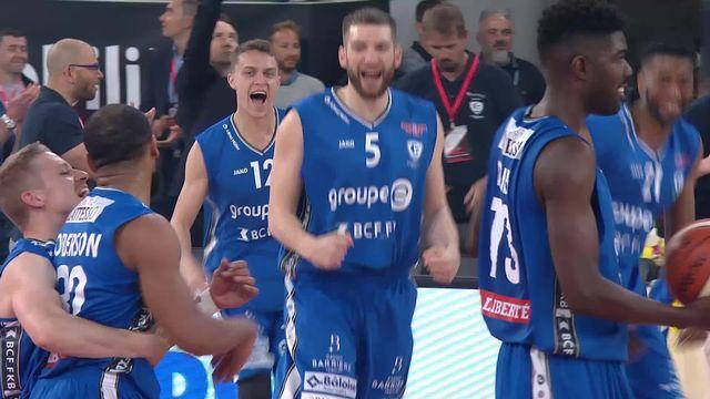 Finale messieurs, Lions de Genève – Fribourg Olympic (73-82): Fribourg s'impose et remporte la coupe! [RTS]