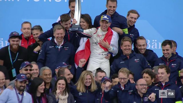 Formule E, 8e étape: les deux pilotes suisses ont joué de malchance [RTS]