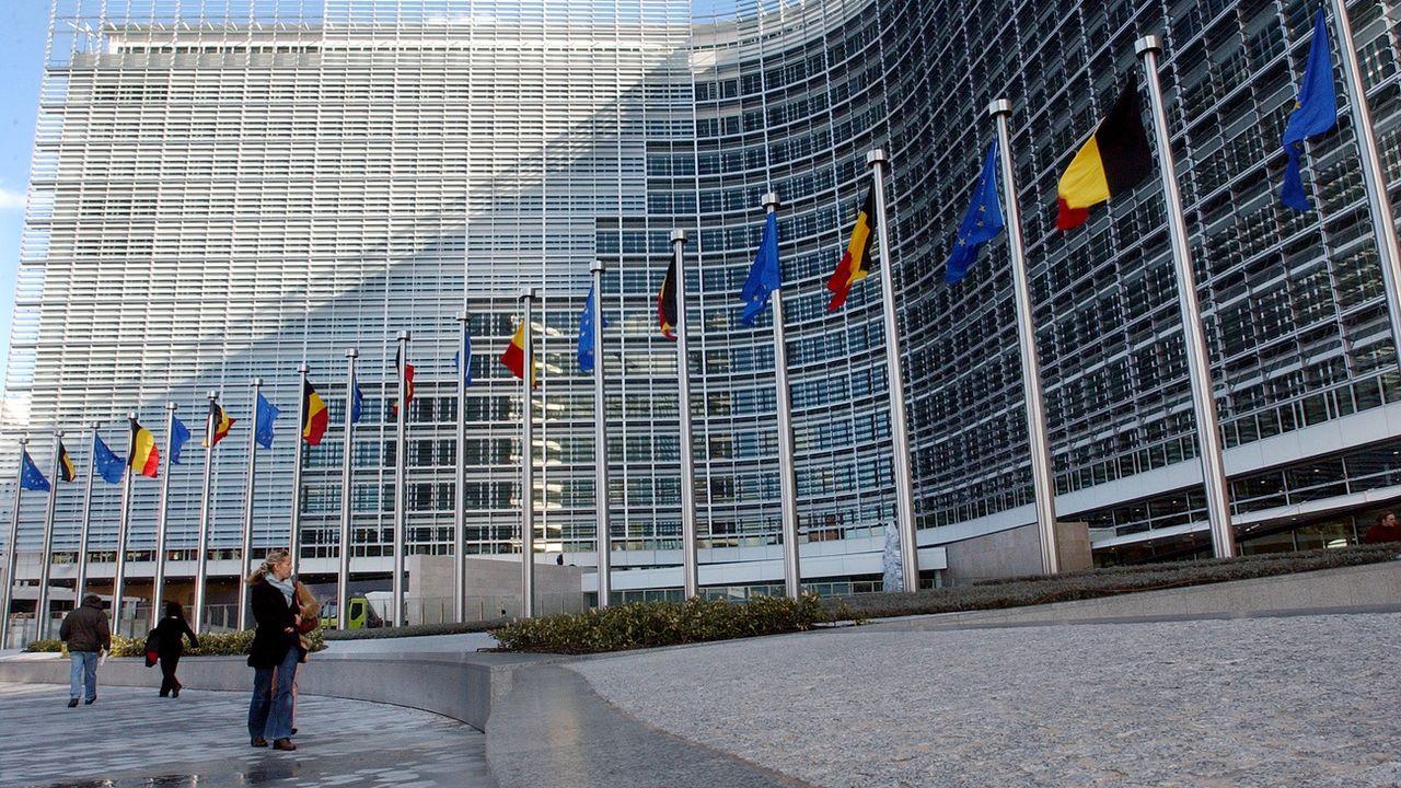 Le siège de la Commission européenne à Bruxelles. [Yves Logghe - AP Photo/Keystone]
