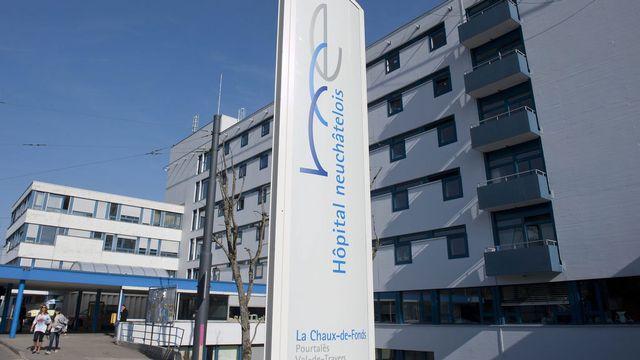 Le site de la Chaux-de-Fonds de l'Hôpital neuchâtelois. [Sandro Campardo - Keystone]