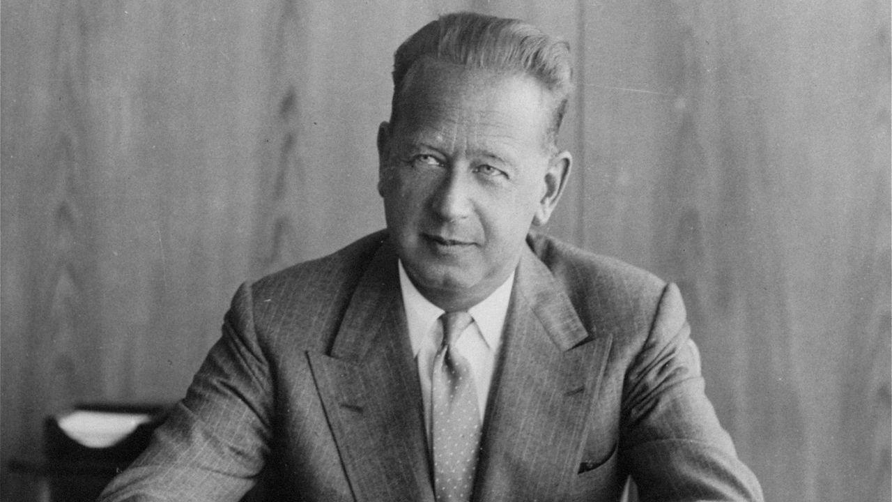 Le secrétaire général de l'ONU Dag Hammarskjold en 1959. [AP Photo/Keystone]