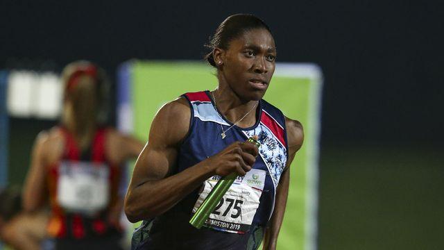 L'athlète sud-africaine Caster Semenya. [Roger Sedres - AP Photo/Keystone]