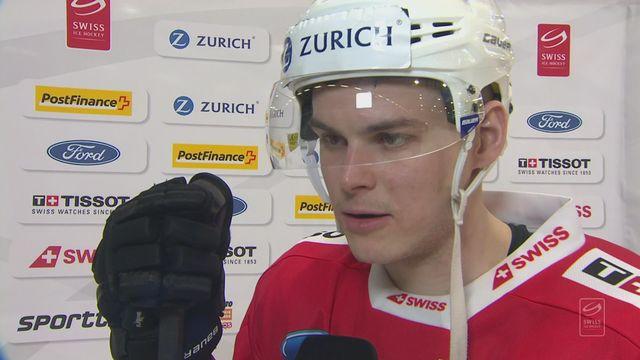 Match de préparation, Suisse – Lettonie (4-1): Hofmann au micro de RTSsport après la victoire suisse [RTS]