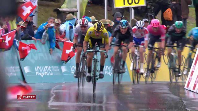 4ème étape, Lucens – Torgon: victoire de Primoz Roglic (SLV) [RTS]