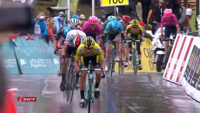 Cyclisme, Tour de Romandie: la 4ème étape remportée par Primo Roglic [RTS]