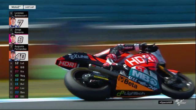 GP d'Espagne (#4), Moto 2: victoire de Baldassarri (ITA), Luthi termine 4e [RTS]